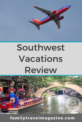 Southwest Vacations Review - vacation packages that include Southwest airfare, rental cars, and hotel.