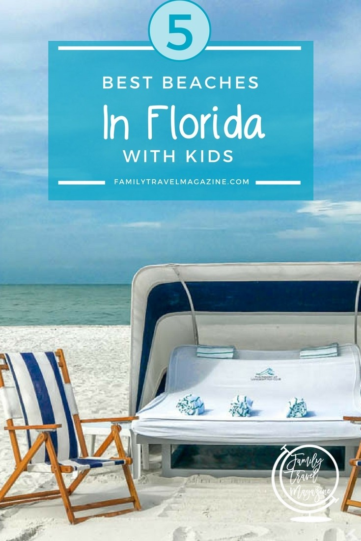5 Best Beaches in Florida With Kids, including Clearwater and Marco Island. #familytravel #florida #beaches