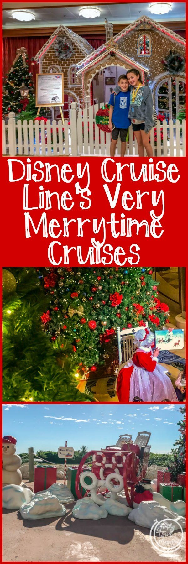 All about the Disney Cruise Line's Very Merrytime Cruises