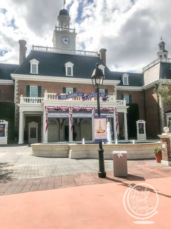 The American Adventure at Epcot