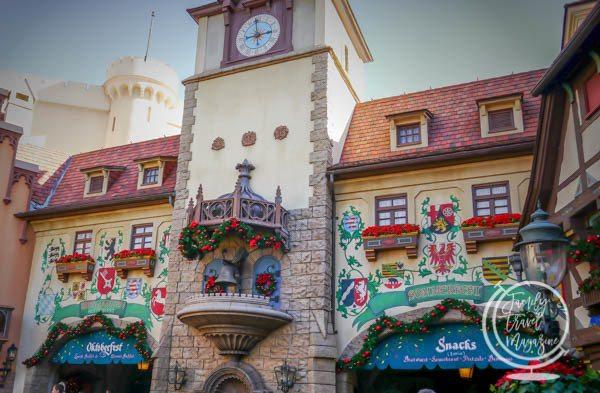 Biergarten at Walt Disney World