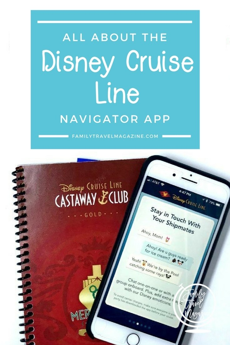 All about the Disney Cruise Line app, including what to do before you leave and what information you can get on the app.