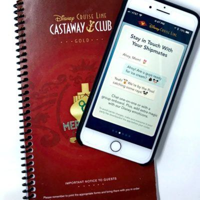 All About The Disney Cruise Line App