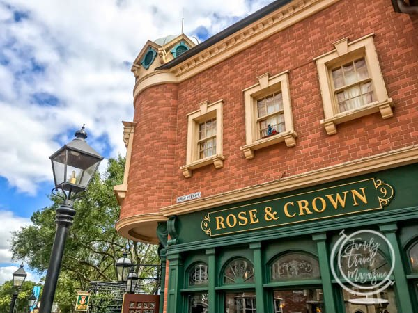 The Rose and Crown at Walt Disney World