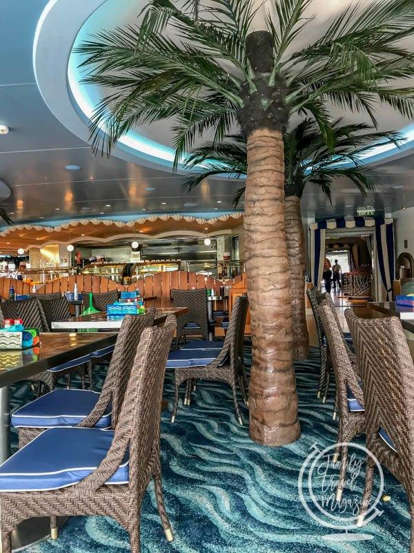 Cabanas on the Disney Dream