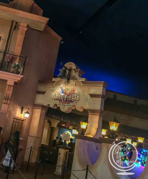 The Gran Fiesta Tour entrance, in the Mexico pavilion.