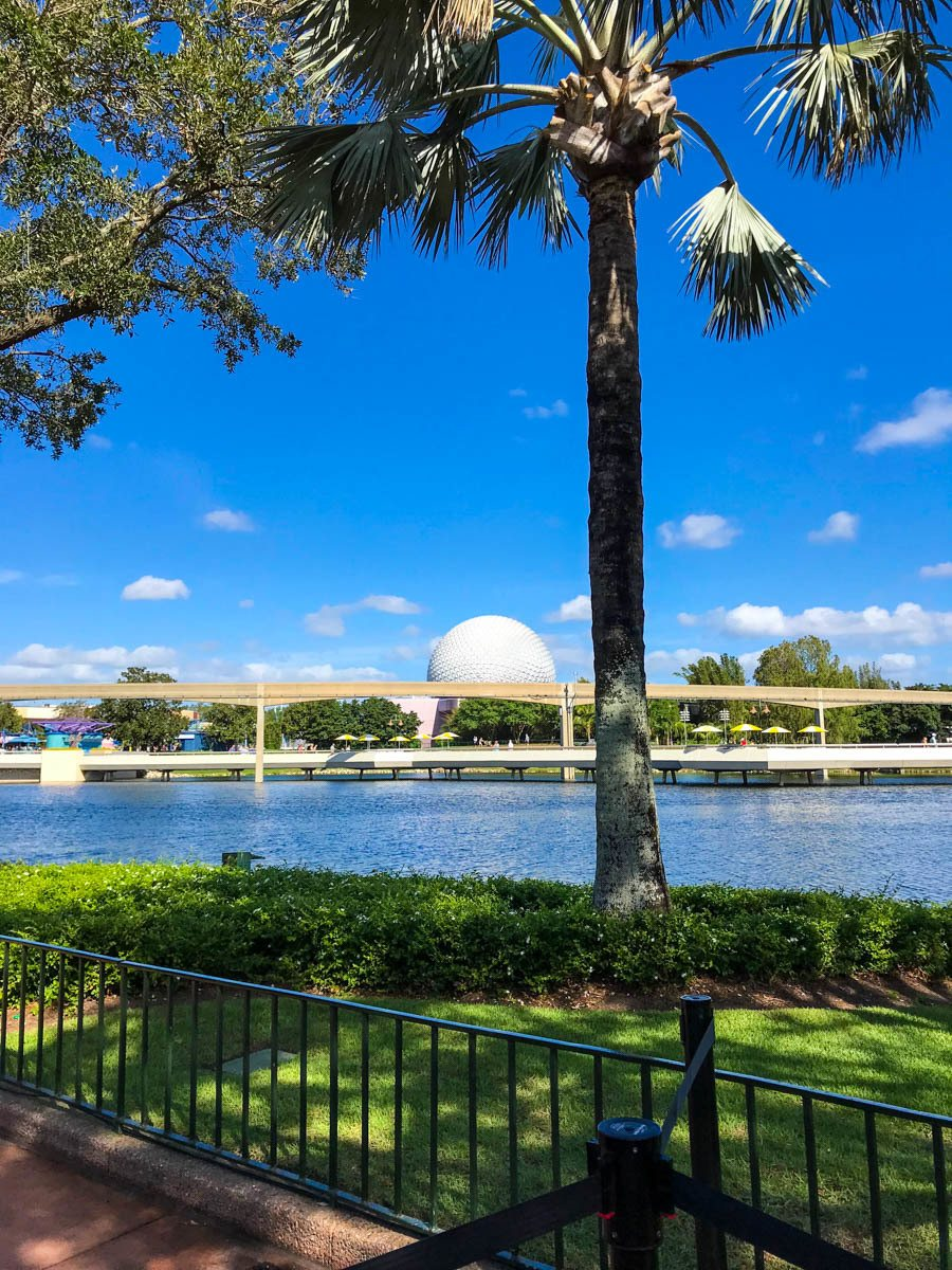 Epcot from the World Showcase