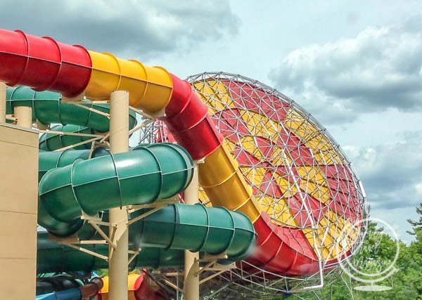 Great Wolf Lodge Water Slides