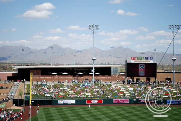 Spring training games in Phoenix AZ