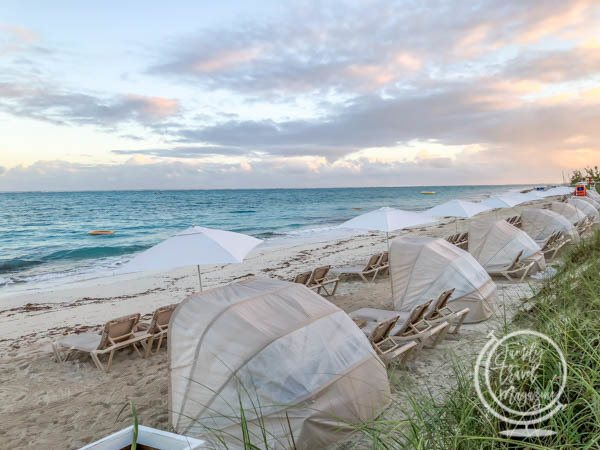 Menu And Reception Set Up At Sibonne In The Turks And: A Guide To Beaches Turks And Caicos Resort
