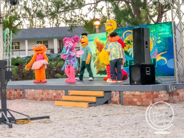 Sesame Street at Beaches Turks and Caicos