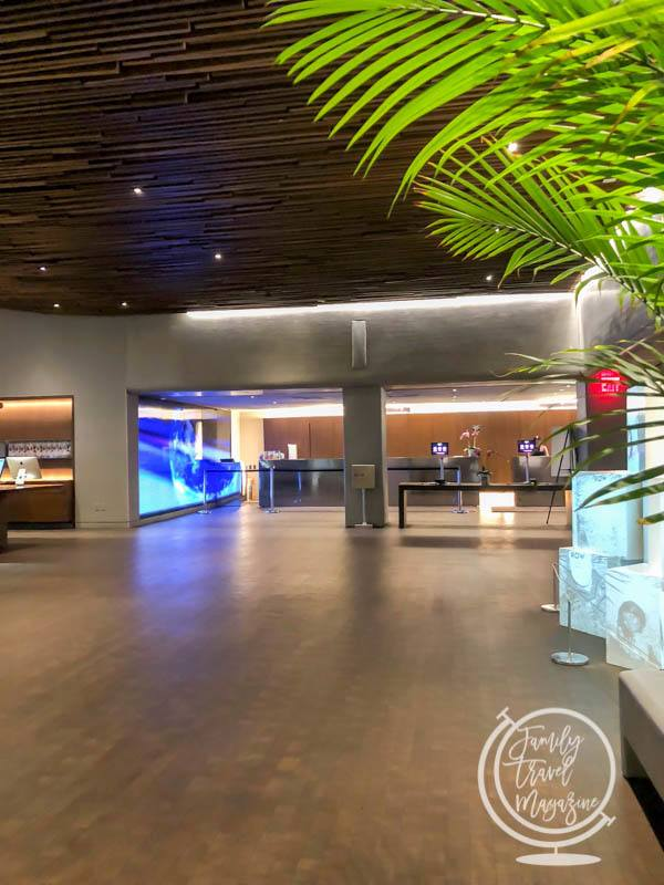 Lobby at the Row NYC