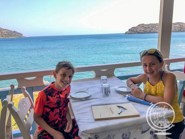 Restaurant in Plaka Crete