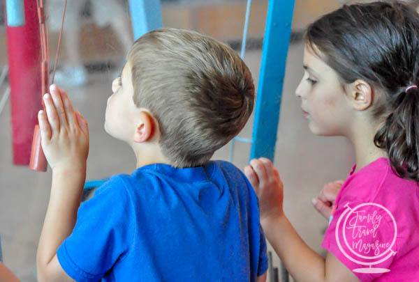 Kids at Bostons Museum of Science