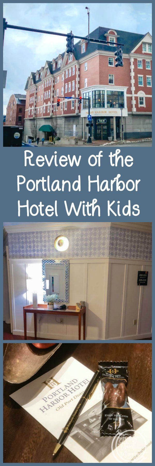 A review of the Portland Harbor Hotel, a luxury kid-friendly boutique hotel located right in Portland Maine's popular Old Port neighborhood.