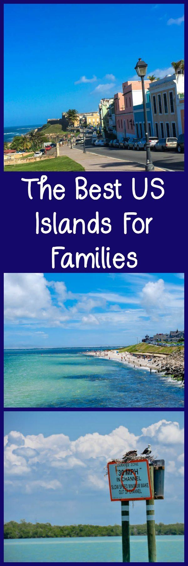 The Best US Islands for families, including islands in George (St Simons), Massachusetts (Martha's Vineyard), and South Carolina.