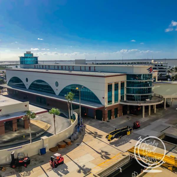 The Disney Cruise Line cruise terminal