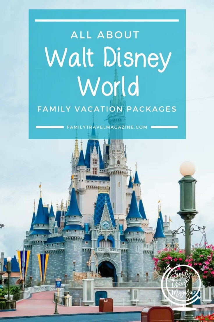 All about Walt Disney World family vacation packages, also known as Magic Your Way Packages.