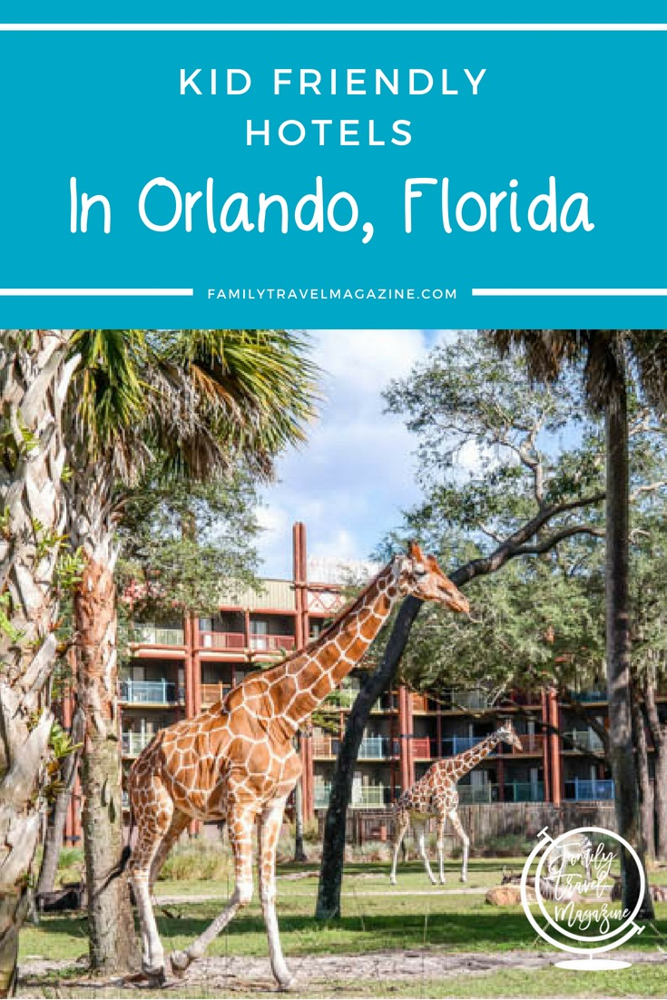 An overview of some of the best kid friendly hotels in Orlando, including resorts located on property at Walt Disney World, as well as two hotels at/near the Orlando International Airport.