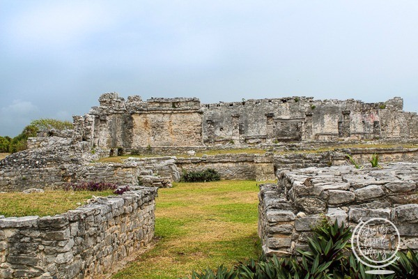The Tulum archaeological site