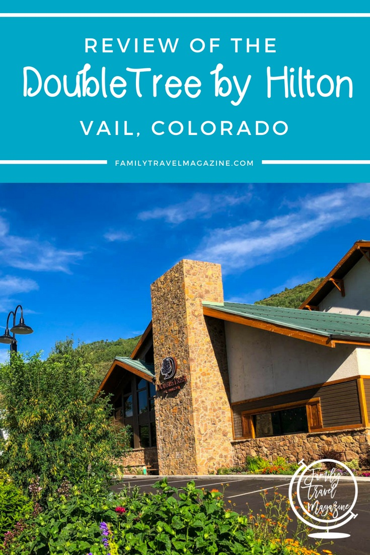 A review of the DoubleTree by Hilton Vail Colorado, a brand-new family-friendly hotel in Vail with several restaurants, suites, and a heated pool.