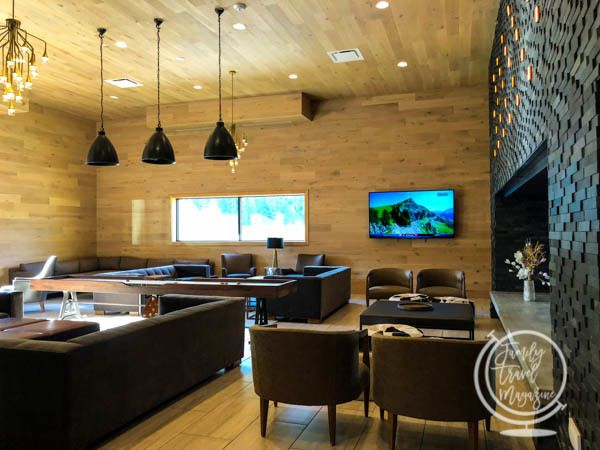 Lobby of the Doubletree Hilton Vail