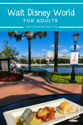 Walt Disney World for adults, including the best hotels for adults at Walt Disney World and the best restaurants for adults.