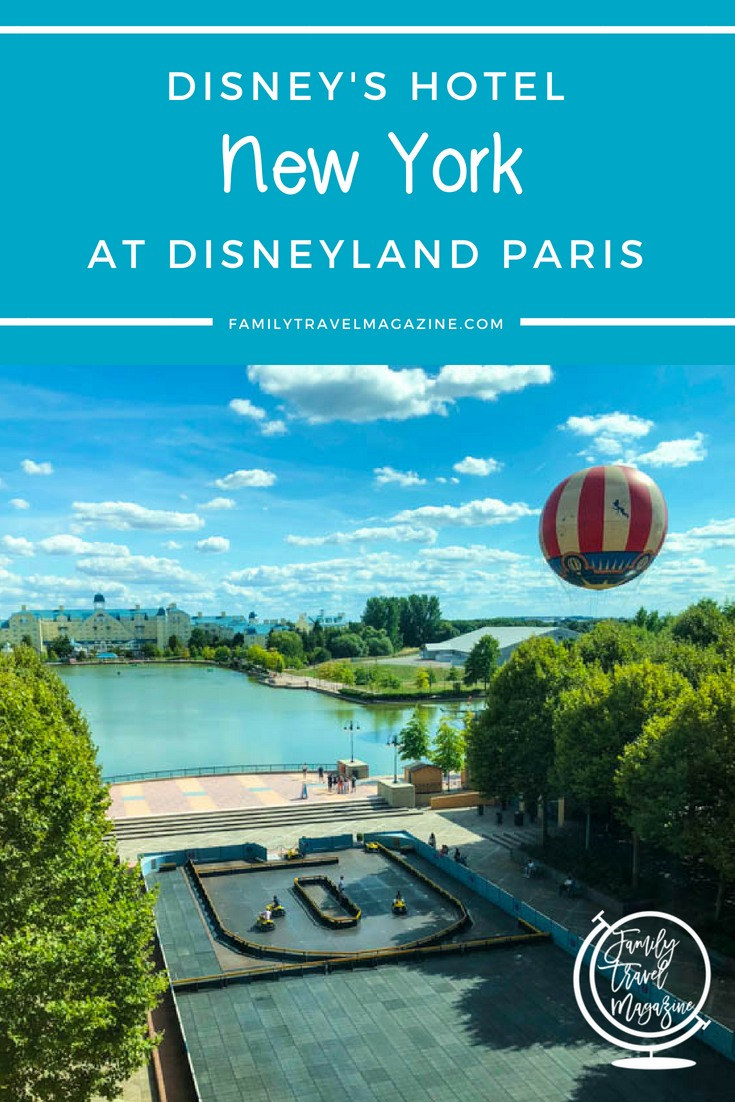 A review of Disney's Hotel New York at Disneyland Paris - a hotel located a quick walk away from the two theme parks and Disney Village.