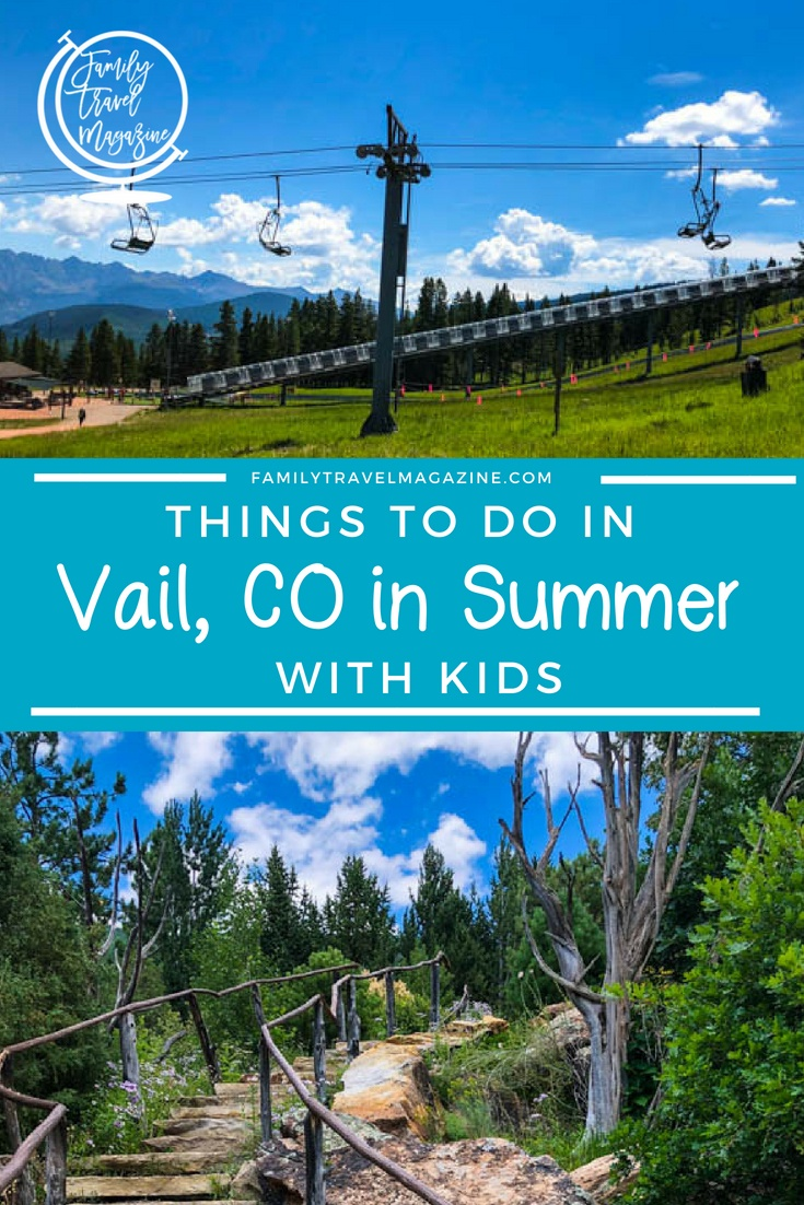 Things to Do in Vail in Summer With Kids, Including Vail Village, the Mountain Coaster, and Goat Yoga.