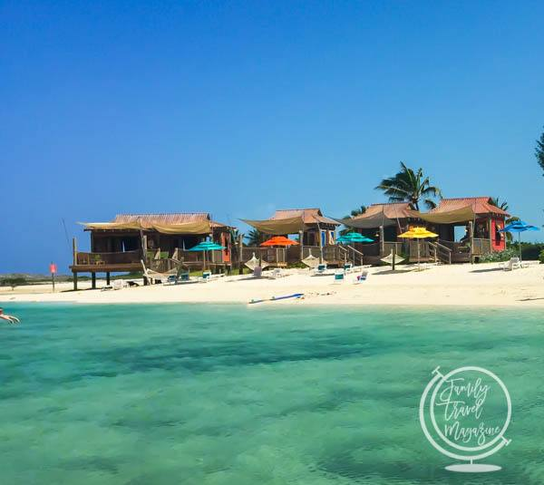 Castaway Cay Cabanas