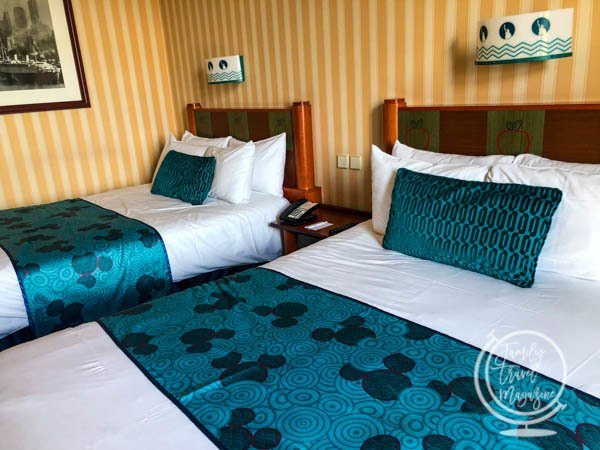 Rooms at Disney's Hotel New York