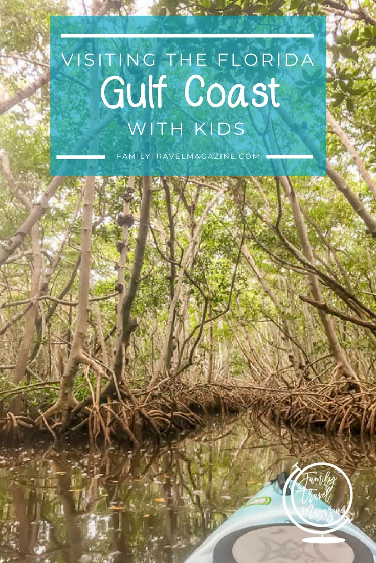 Visiting the Florida Gulf Coast with kids, including Sarasota, Clearwater, Marco Island, Sanibel Island, and Fort Myers.