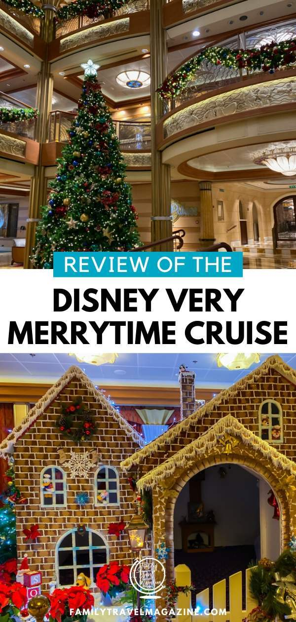 A review of the Disney Christmas Cruise - the Disney Cruise Line's Disney Christmas Cruise featuring holiday decor, costumed characters, special Christmas events, and more.