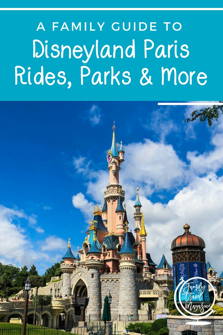 Disneyland Paris Rides, Parks, and More, including tickets, hotels, and food that you'll find at Disneyland Paris.