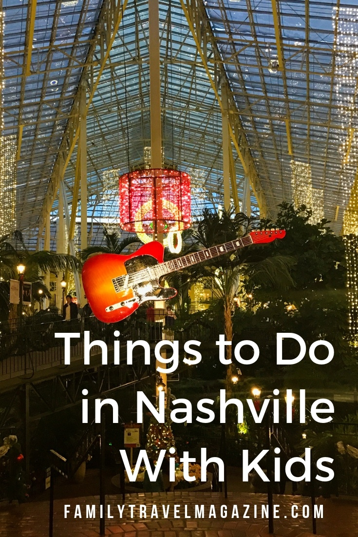 Things to do in Nashville with kids including the Grand Ole Opry, Ryman Hall, and where to stay and eat in Nashville.