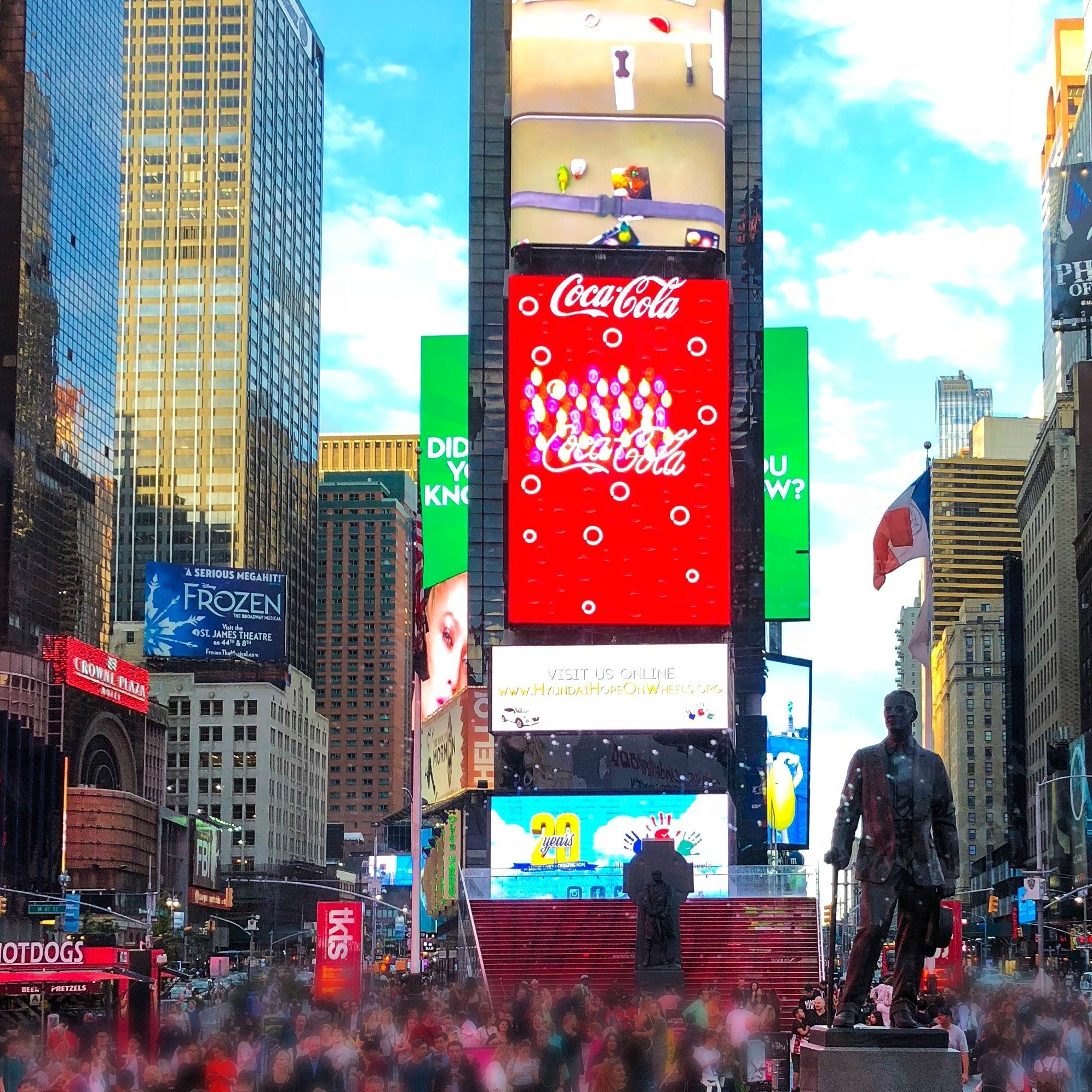 The Ride through Times Square