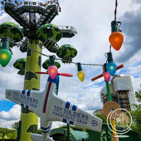 Toy Parachutes Disneyland Paris