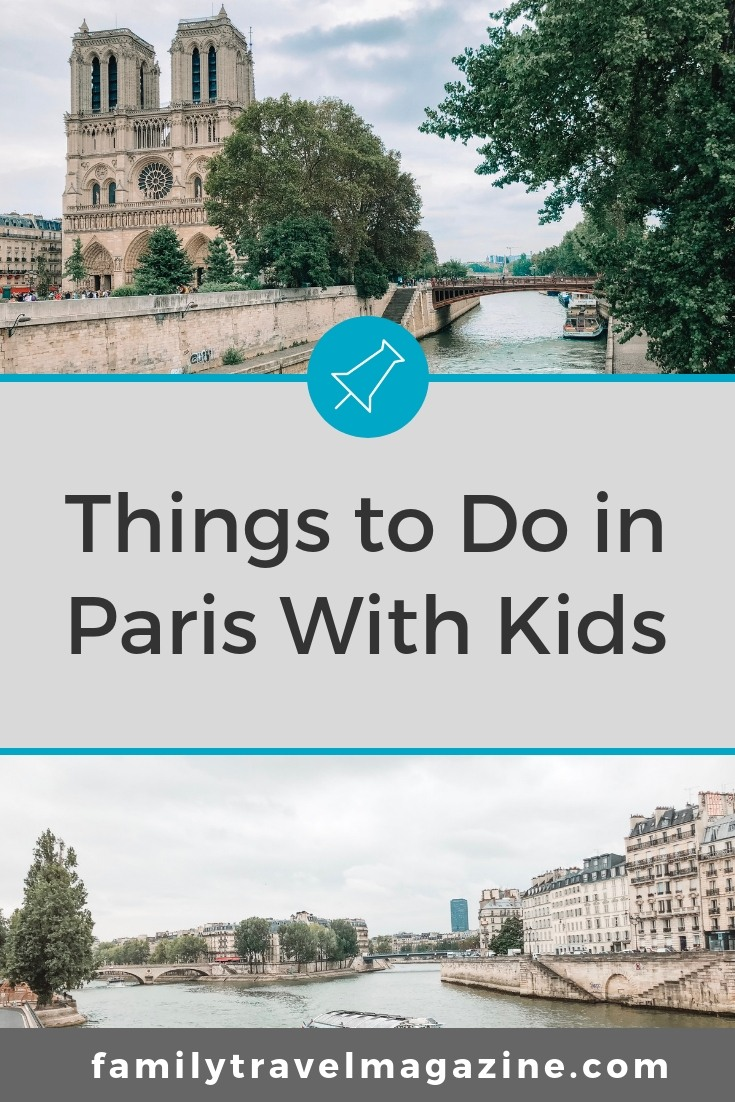 Things to do in Paris with kids including the Louvre, the Eiffel Tower, museums, and more.