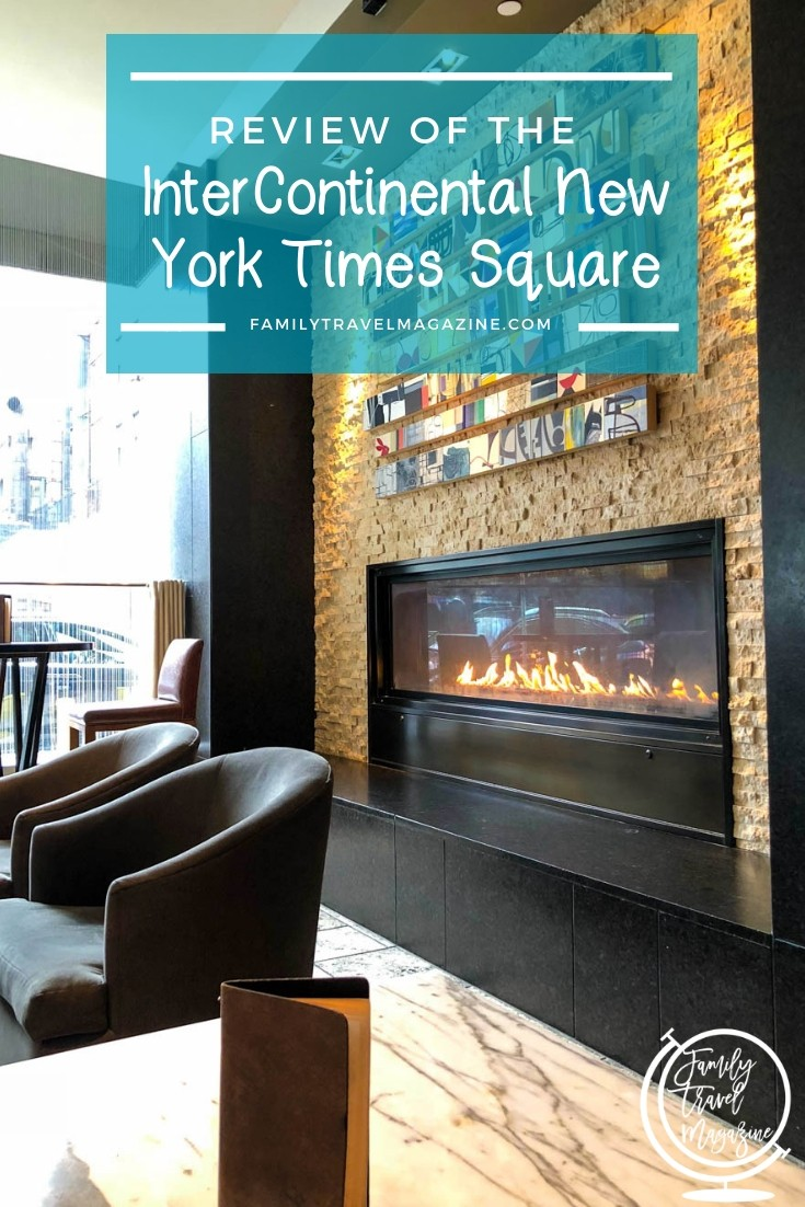 Review of the InterContinental New York Times Square Hotel, a convenient and luxurious hotel.