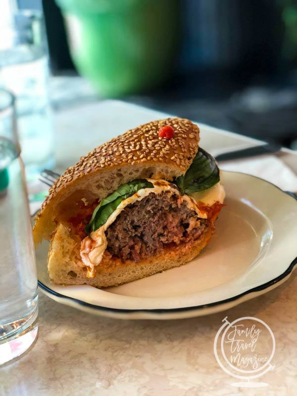 Meatball sandwich at Parm