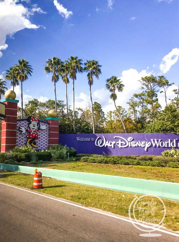 the entrance to Walt Disney World