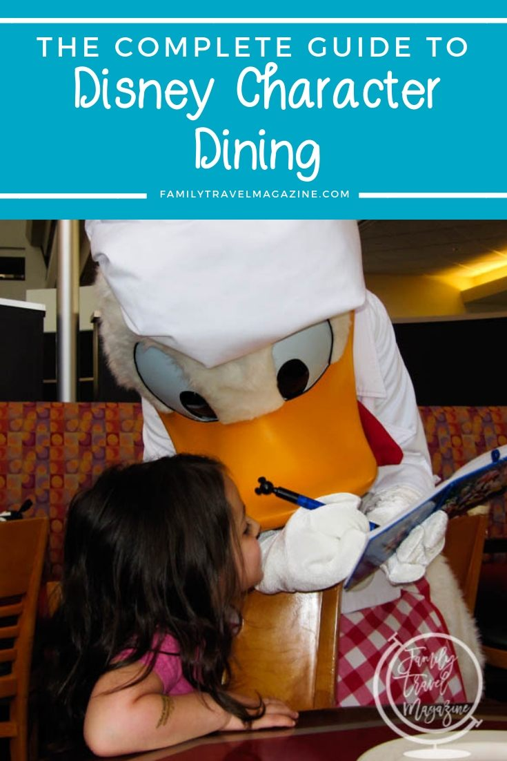 Eat With Your Favorite Character Disney Character Dining