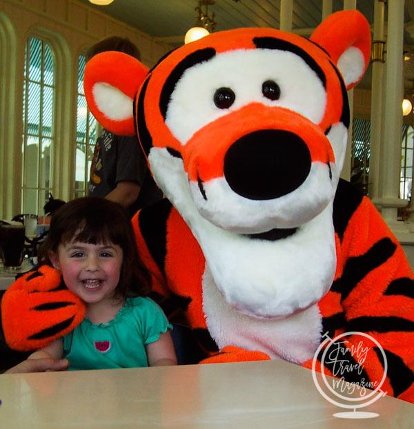 Tigger at Crystal Palace