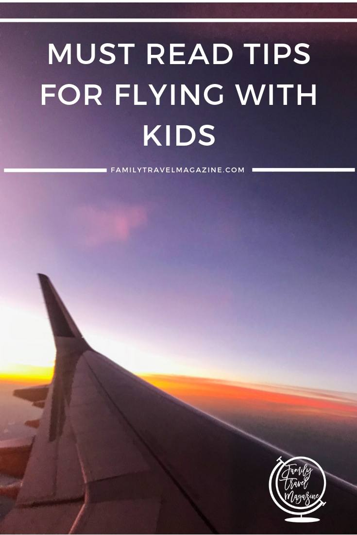 Here are our top tips for flying with kids, including getting seats together, what ID kids need, and what to pack in your <a href=