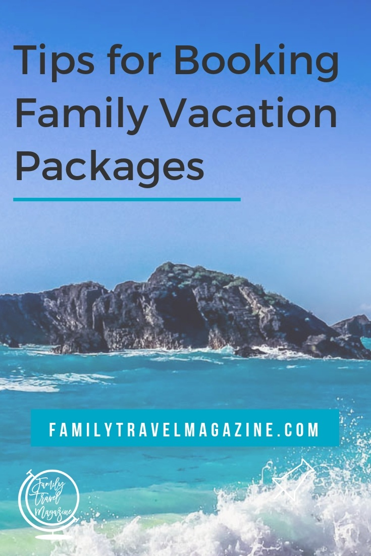 Family vacation packages can be a great way to save money and time when booking family travel. Here are the various types of packages you'll find, and tips for booking them.