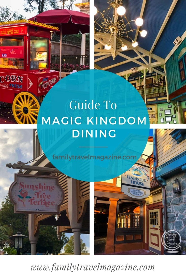 If you are visiting the Magic Kingdom, you'll definitely need to eat there. Here's our guide to Magic Kingdom dining, including table service and quick service restaurants, as well as snacks.