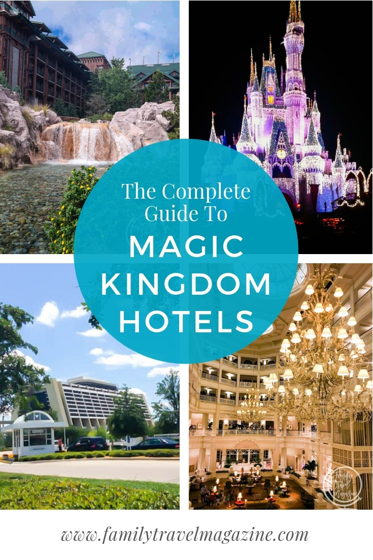 The best Magic Kingdom hotels and resorts both on the monorail and off the monorail, in Orlando Florida.