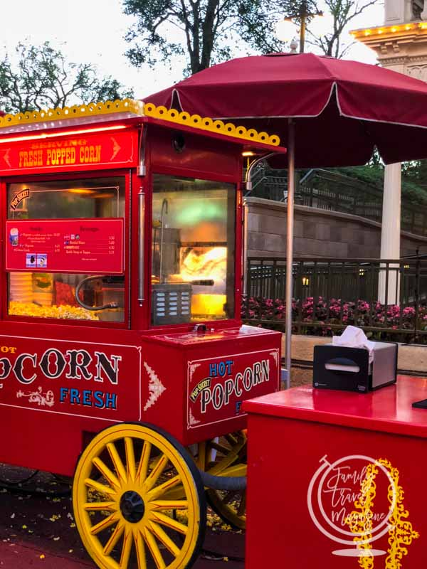 Popcorn at the Magic Kingdom