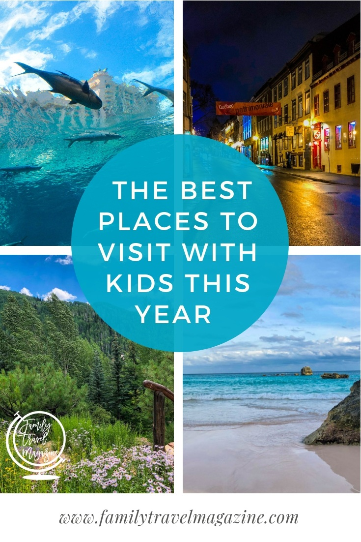 Get some family travel inspiration from our best places to visit with kids this year list, including NYC, Washington DC, the Caribbean, London, and Orlando.