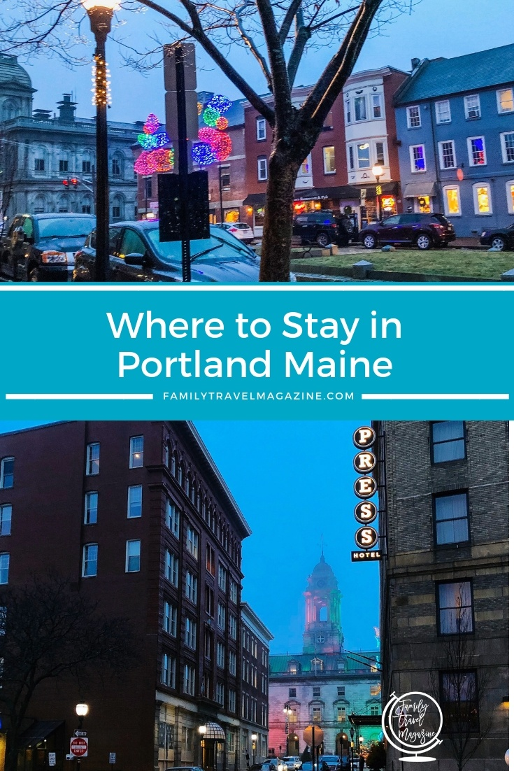 Where to stay in Portland Maine including the various neighborhoods like Old Port as well as the Portland Maine hotels we recommend.
